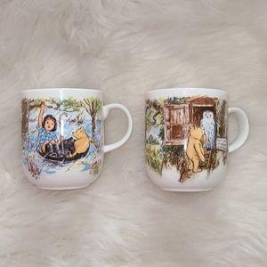 Classic Pooh Royal Doulton Mug Set